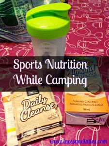 Sports Nutrition While Camping