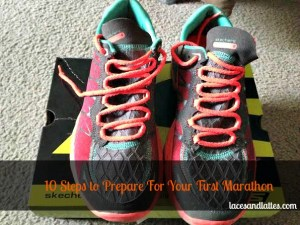 Preparing for your first marathon