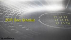 2014 Race Schedule
