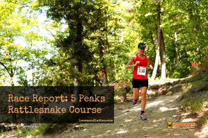 Race Report: 5 Peaks Rattlesnake Course