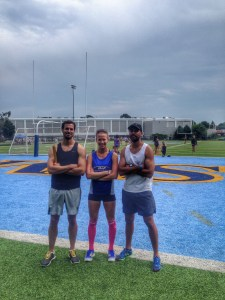 Track Drills and Beet Juice