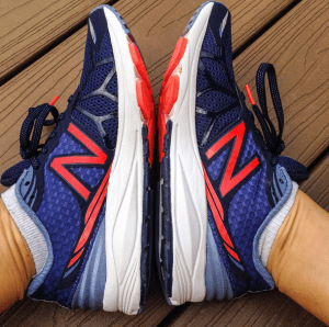 Recovering from a Rogaine Race and New Balance Vazee Review