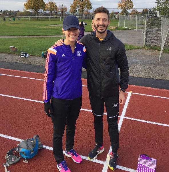 Ran a 5 KM as a fun, off season training session. Certainly not in speed work shape, but it was great to catch up with Alex Genest and run a fast course.