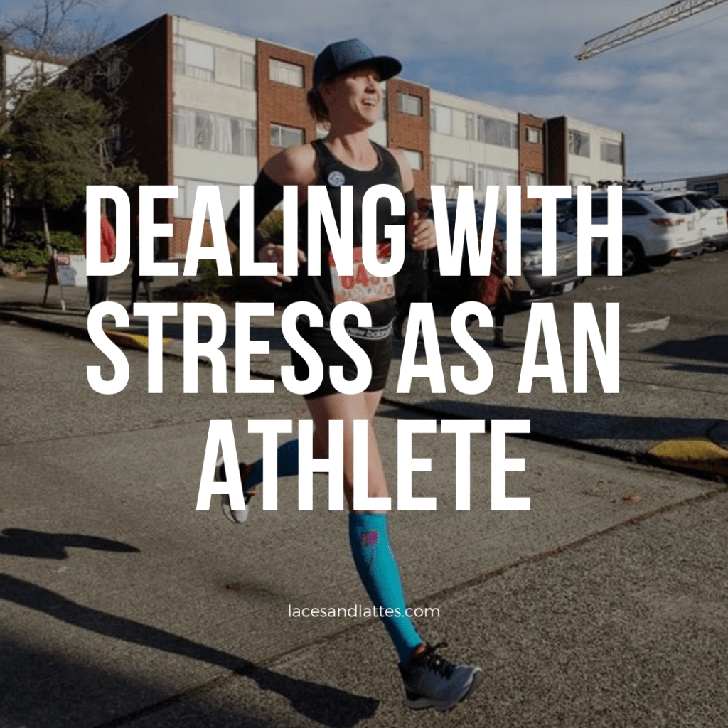Dealing with stress as an athlete