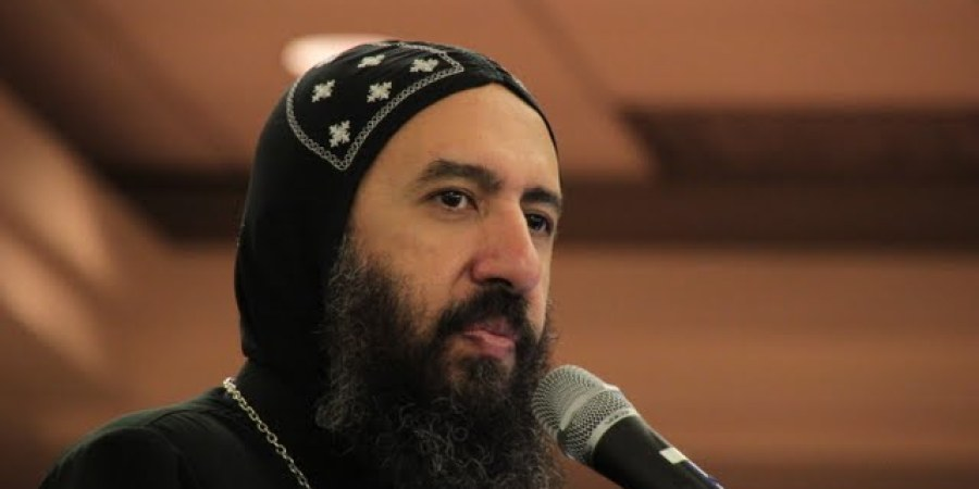 Bishop Angaelos at a GYP Annual Convention