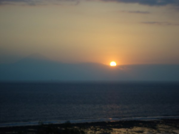 Atardecer en Bali desde Gili