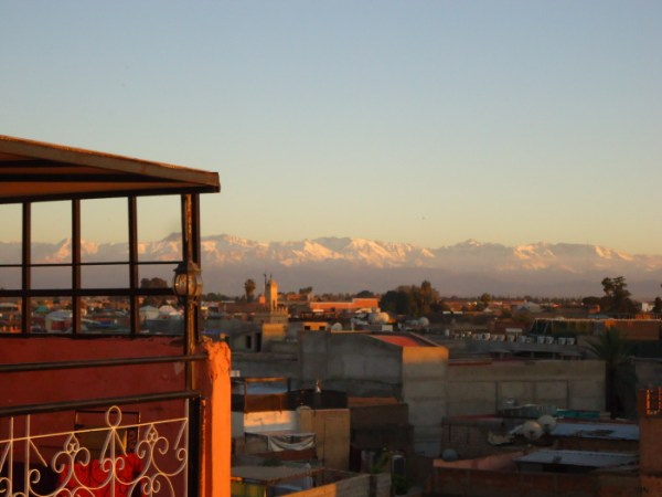 Atlas desde Marrakech