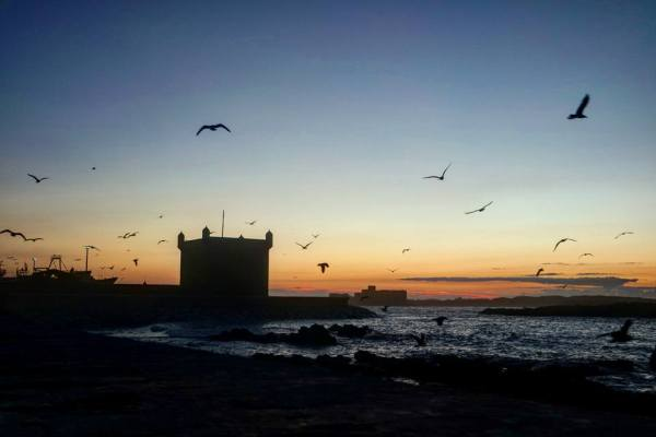 Atardecer en Essaouira