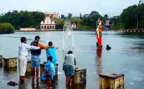 Grand Bassin, la pequeña India de isla Mauricio