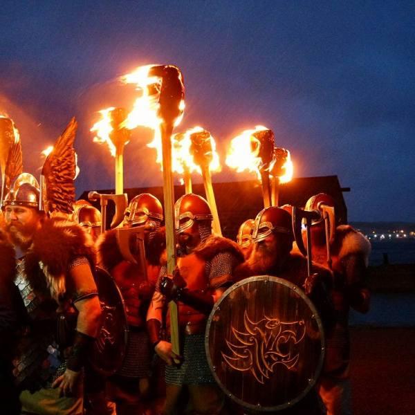 Vikingos en Lerwick, Up Helly Aa