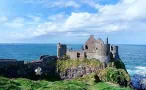 Dunluce castle, Pyke en la ruta de Juego de Tronos en Irlanda del norte