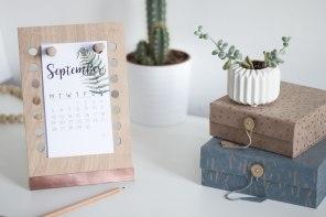 [ DIY & free printable ] Un agenda peg-board