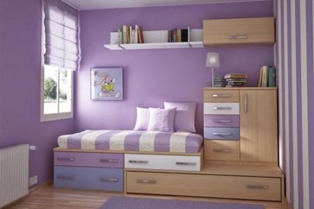 purple bedroom decor girl teen