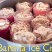 Perfect One Ingredient Banana Ice Cream - No Cream Just Bananas