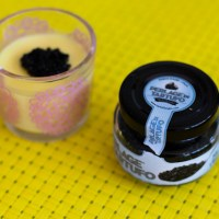 Seductive Saffron Panna Cotta with Truffle Caviar Recipe
