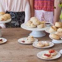 How to hold a Great British Bake Off - and Remy's winning scone recipe
