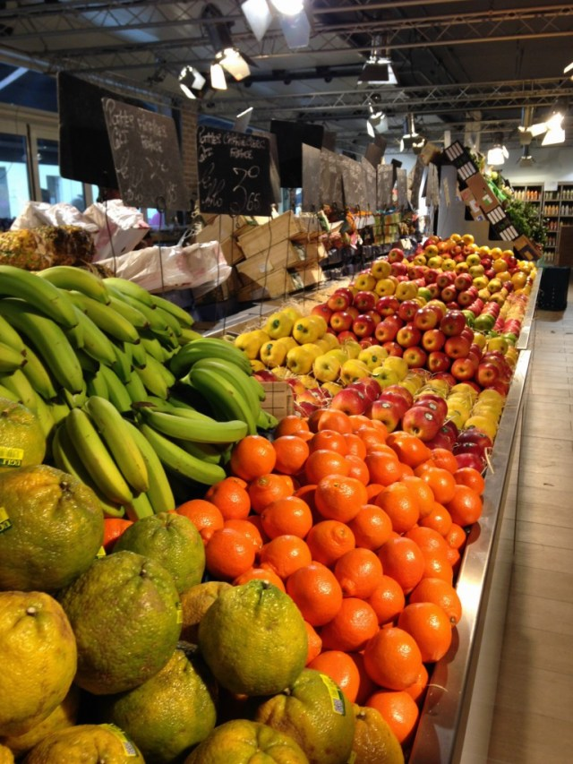 fruit market in Le Touquet-Paris-Plage