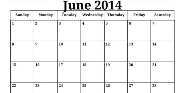 Printable-Blank-PDF-June-2014-Calendar