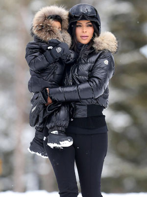 kim-kardashian-north-west-skiing-fashion