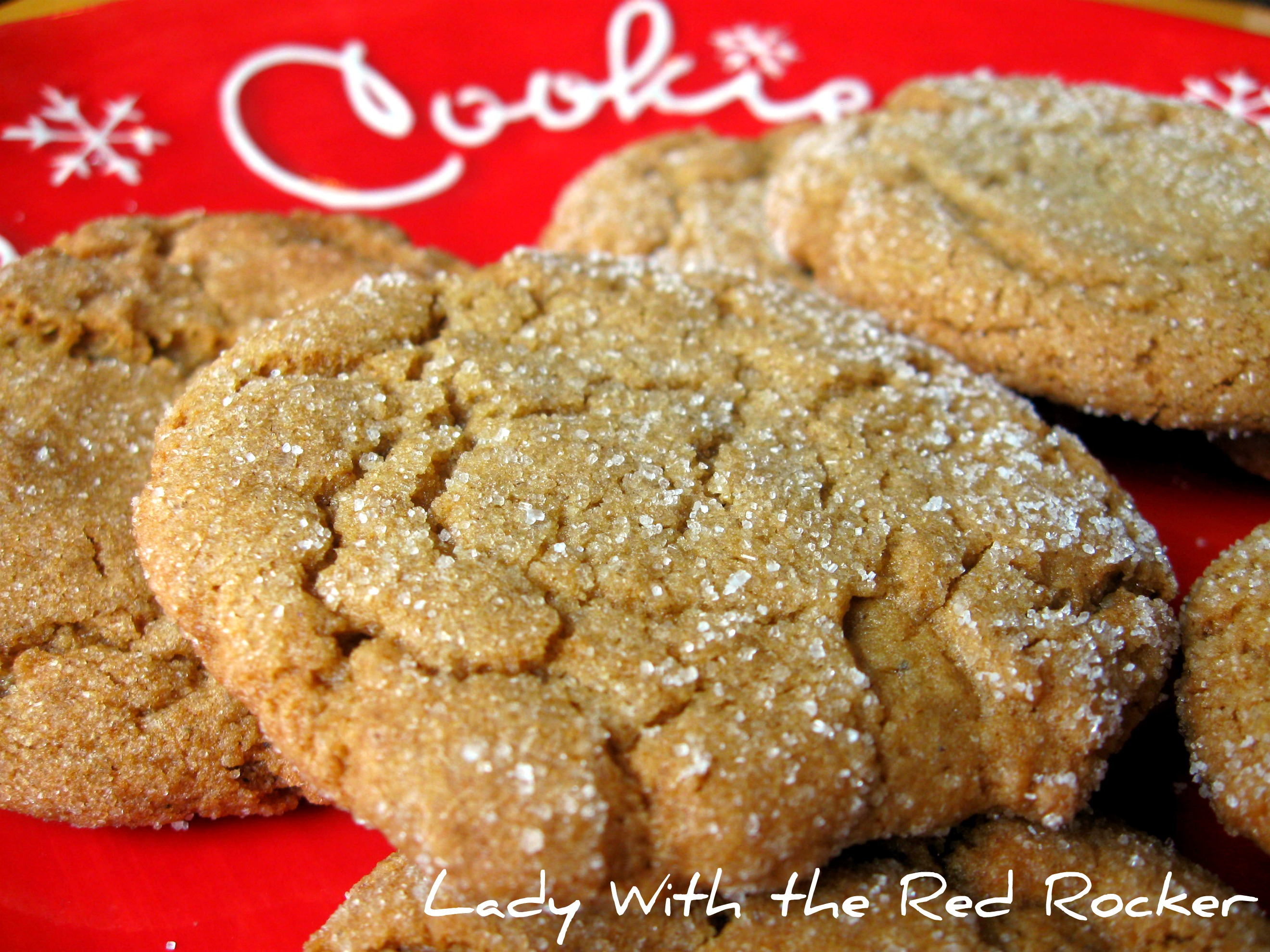 Day 5: Big Soft Ginger Cookies • this heart of mine