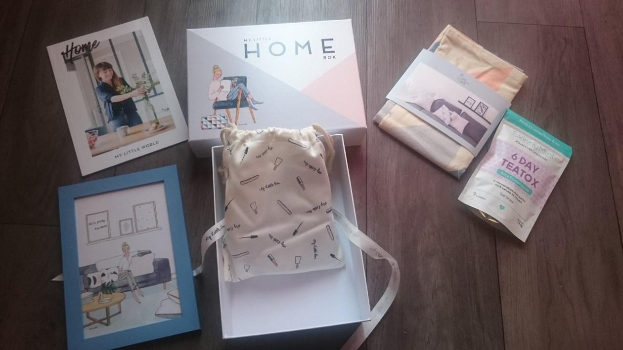 contenu my little home box février 2016