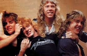 Metallica during the Mustaine years.