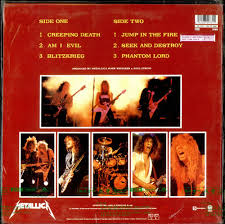 Loved this record! Played this SO MUCH! This is also where I discovered Dave Mustaine and later Megadeth.