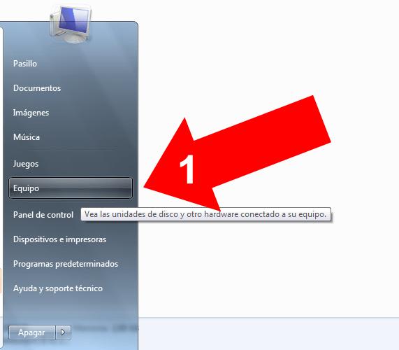 Comprimir un HD en Windows 7 (1)
