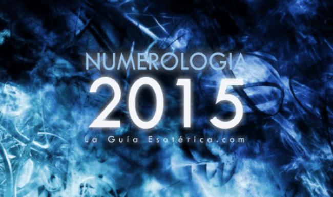 Numerologia 2015