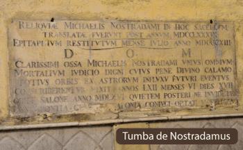 Tumba de Nostradamus