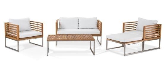 mobiliario de jardín conjunto sofás