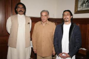 Adil Abdullah Khan Rokhari  with CM