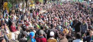 Rally on Kashmir solidarity day