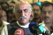 Opposition leader Khurshid Shah announces support traders' protest against withholding tax
