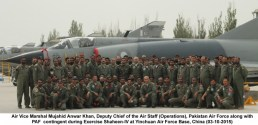 A Joint Air exercise Shaheen IV between PAF and PLA Air force, concludes