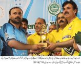 Punjab MPAs defeated KPK by 11 runs in a closely contested match