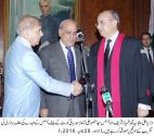 Justice Syed Mansoor Ali Shah takes oath as a Chief Justice Lahore High Court