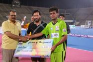 Islamabad's Ejaz scored OGDCL 5-A side tournament's first hat trick
