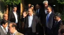 A mass welcome celebration not be arranged upon my return : Nawaz Sharif