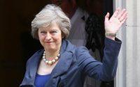 British Prime Minister Mrs Theresa May telephones Prime Minister Nawaz Sharif