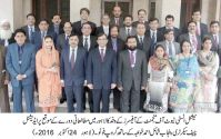 Mid Career Officers visit Civil Secretariat