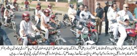 Woman on Wheels program launched in Faisalabad