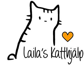 Lailas Katthjälp Logo