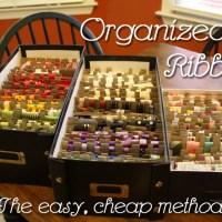 Ribbon Organized!