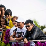 The Cast of Kailangan Ko'y Ikaw at the Panagbenga 2013 Grand Float Parade