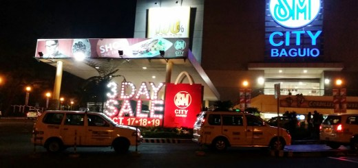 Getting Ready For the SM City Baguio 3-Day Sale