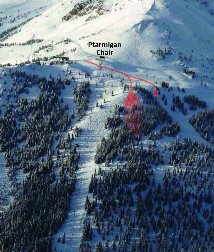 Avalanche Incident in Ptarmigan Area (1/6)