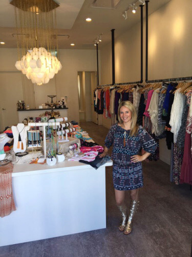 Jennifer Purifoy presides over a high-end mix of clothing and accessories at Hello Daffodil.
