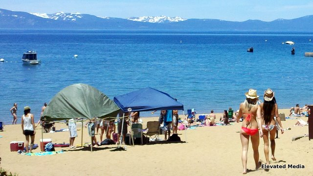 Summer at Zephyr Cove