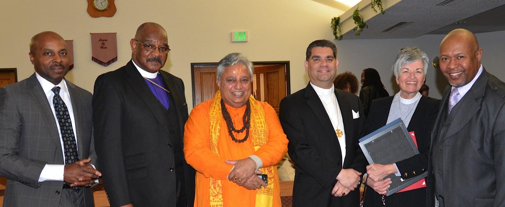 Martin Luther King  Interfaith Service 2014